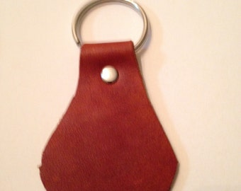 Handmade Leather Key Fob