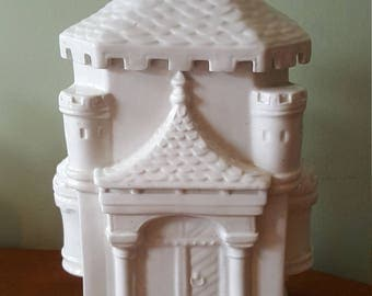 Castle Cookie Jar, Made in Italy