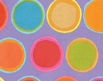 PAINT POTS Orange ARTISAN by Kaffe Fassett Sold in 1/2 yd increments