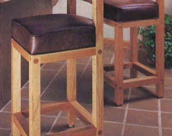 Breakfast Barstools Woodworking Plans