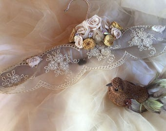 Wedding gown hanger # Wedding dress hanger.