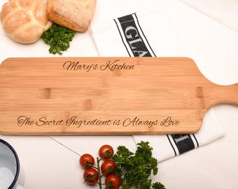 Personalised housewarming Gift, Chopping Board, Cutting Board, Kitchen Gift.
