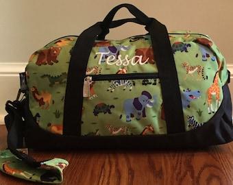 Duffel Bag Kids, Overnite Bag Kids, Personalized Travel Bag, Girls Duffel Bag, Boys Duffel Bag