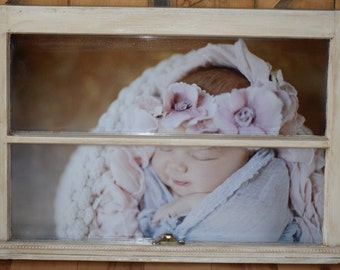 Antique Window Frame Picture Frame
