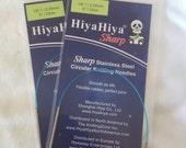 "HiyaHiya sharp 9"" 23cm circular needles 2.50mm"