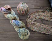 PRE- ORDER Handdyed Yarn choose your base: Nymph