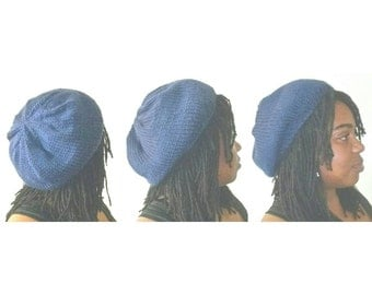 Slouchy Satin Lined Knit Beanies - Regular - Unisex - Fully Lined