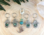 Hamsa Stitch markers | knitting stitch markers| Knitting Accessory | Knit Notions