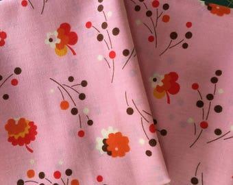 RARE Pink Posies - Original Flea Market Fancy - Denyse Schmidt - Cotton Fabric