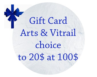 Gift card - Gift Certificate - Check gift card - in CAD - valid throughout the store