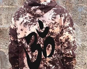 acid hoodie, smiley, lsd, festival, hippie, goa, dance, batik, tie dye, nature, ethno, hipster, yoga