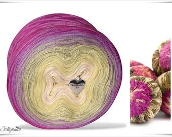 Gradient Yarn Merino Tea Flower 1'000m