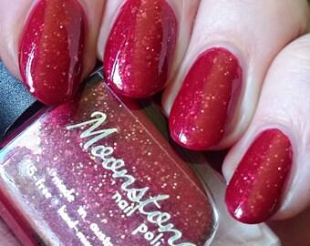 Bacon | Moonstone Nail Polish | indie nail polish, glitter, handmade, artisan