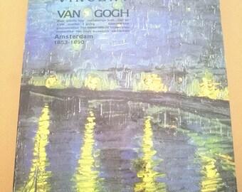 SALE! Vincent Van Gogh B5 notebook with golden edge---Vintage notebook--Starry Night