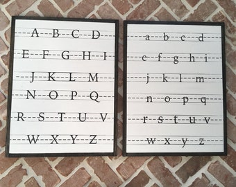 Set of ABC Signs