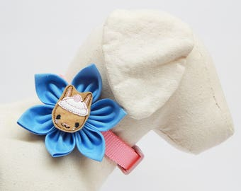 Collar Flower & Spring Feltie for Dogs and Cats