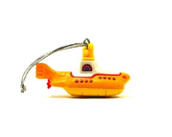 The Beatles Yellow Submarine Hot Wheels Ornament