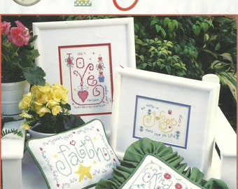 Words To Cherish Cross stitch Booklet