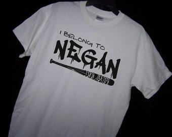 The Walking Dead I BELONG to NEGAN Tshirt