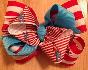 Where's Waldo Hair Bow