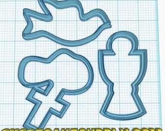 Religious Cookie Cutter Set