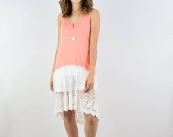 Lace Layered Tunic