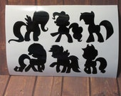 My Little Pony | Friendship is Magic | Vinyl Decal | See Details