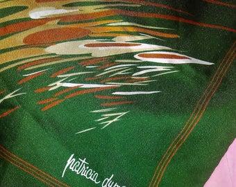 Designer Scarf, Splash Design, Patricia Dumont, Made in Italy