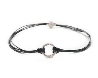 Necklace Double eternity