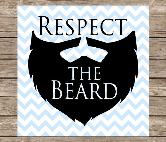 respect the beard svg dxf png dad fathers day man beard