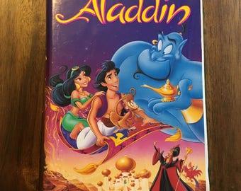 Vintage Disney VHS Black Diamond Edition - Aladdin and free GIFT!!!!