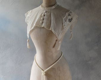 Antique, Edwardian, French, Stockman wasp waist, belle epoque, mannequin or dress form
