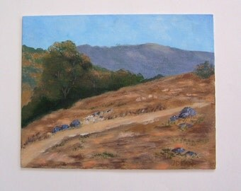 Grasslands Trail - Original Landscape Painting