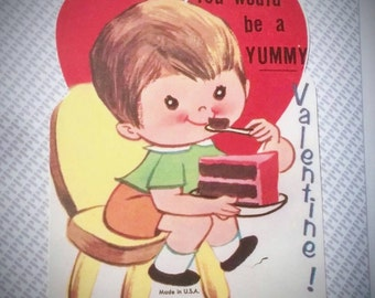 Unused 1950's Valentine's Day Card-New Old Stock