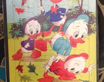 Vintage Disney Donald Duck puzzle