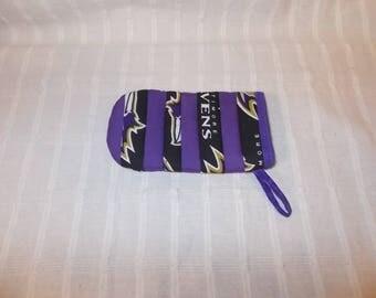 Baltimore Ravens Mini Potholder Pocket for Hot Handles