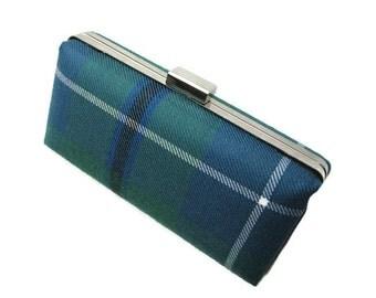 Clan Douglas Tartan Clutch Bag made in Scotland
