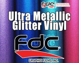 "12""x 10yd / NEW FDC® 3700 Premium Ultra Metallic Vinyl Film"