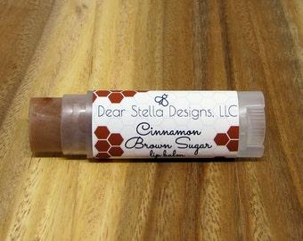 Cinnamon Brown Sugar Lip Balm, Chapstick