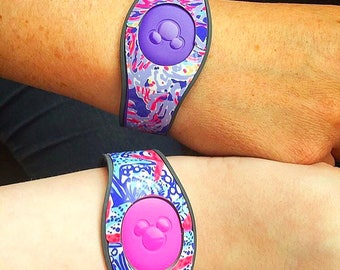 Lilly Pulitzer Inspired Magic Band Decal