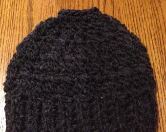 Bun Hat - Messy Bun Hat - Crochet Ponytail Hat - Pony Tail Hat - Crochet Bun Hat, Adult/Teens Sale!