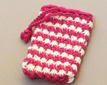 Knitted Soap Holder Pattern : Knit soap holder Etsy