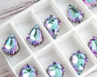 22 mm Swarovski Drop Pendant Vitrail Light Baroque Crystal Pendant 6090