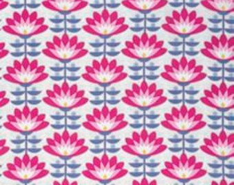 Deco Bloom in Fuchsia, Atrium Collection by Joel Dewberry for Free Spirit Fabrics 4233