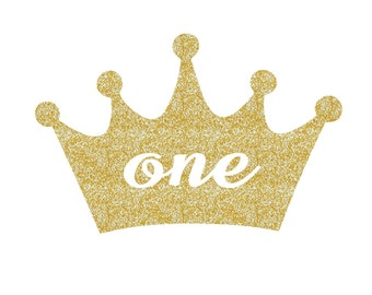 Birthday Crown Decal ONE