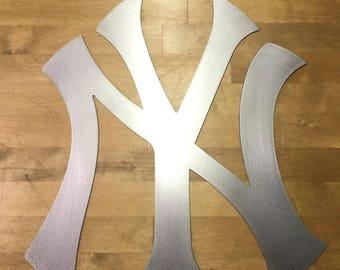 New York Yankees sign metal wall art