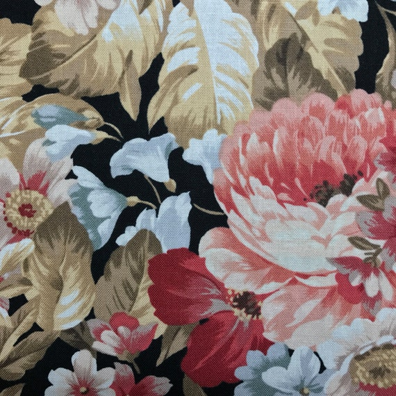 Floral Fold Over Clutch / Cross Body