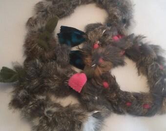 Rabbit Fur and Fleece Tuggie Small
