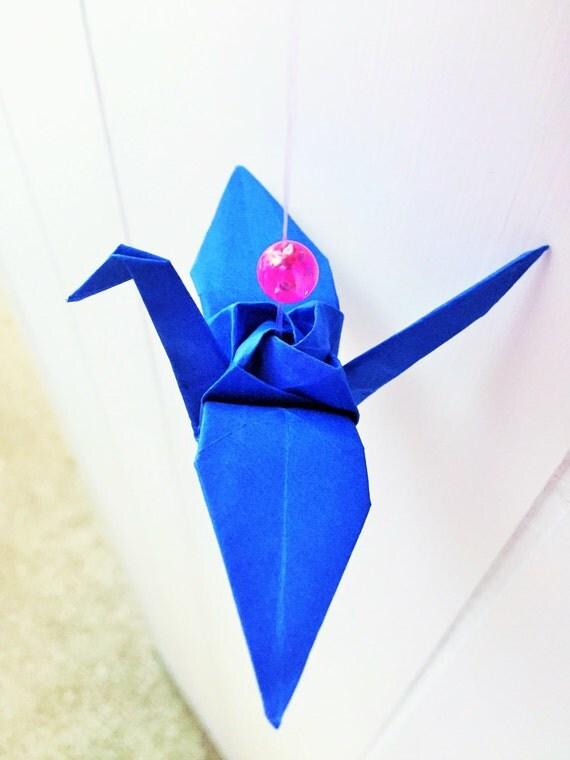 origami cranes paper cranes crane ornament by artenjoyment