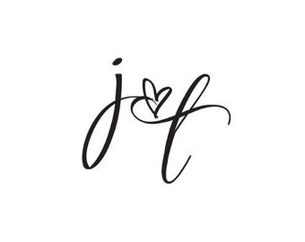 Custom Design Wedding Logo
